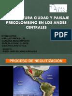 Arquitectura en los andes centrales