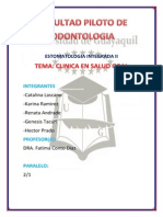 Clinica en Salud Oral Estomato Final