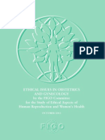 Spanish Ethical Issues in Obstetrics and Gynecology