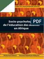 Socio-psychologie de l'éducation d'adultes en Afrique Subsaharienne