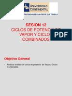 Seesion 12_Centrales Electricas Ciclos de Vapor