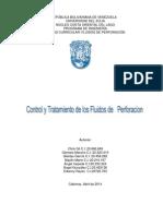 Control y Tratamiento de Los Fluidos de Perforacion Ii2013