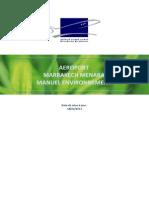 Manuel Environnement Aéroport Marrakech