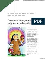 De Santos Encapotados y Religiosos Melancólicos _ Para Vos Nací