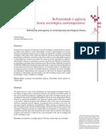 Reflexividade e agência na teoria sociológica contemporânea
