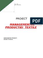 Managementul Productiei Textile