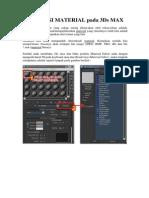 V-Ray Render (Autodesk 3DS Max) - Aplikasi Material