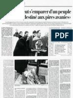 1999 L'Ivresse Peut s'Emaprer d'Un Peuple_LeTemps