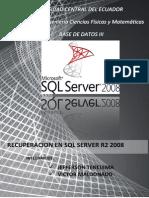 Recuperacion SQL SERVER 2008