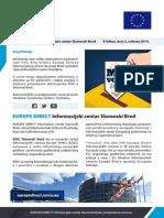 EUROPE DIRECT Informacijski centar Slavonski Brod E-bilten, broj 3, svibanj 2014.