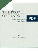 Debra Nails, The People of Plato. Α Prosopography of Plato and Other Socratics