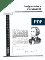 algebra-Desigualdades e Inecuaciones