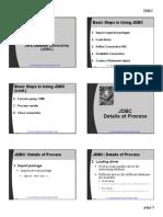 Java Database Connectivity - Jdbc Notes