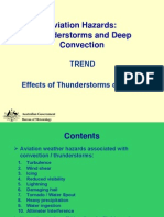 Thunderstorms Effects
