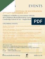 Cambridge Festival of Illustration 2014