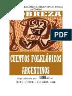 Cuentos Argentinos Pobreza