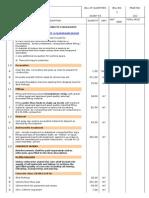 Annex v- Bills of Quantities