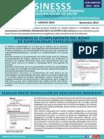 Comunicado Nº 11 CEN SINESSS - Nov. 2014