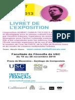 Livret Exposition numérique Camus 1913-2013
