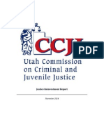 CCJJ report on Utah's Criminal Justice System