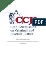 CCJJ report on Utah's Criminal Justice System