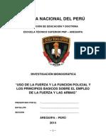USO DE LA FUERZA Y LA FUNCION POLICIAL Y LOS PRINCIPIOS BASICOS SOBRE EL EMPLEO DE LA FUERZA Y LAS AMAS.docx