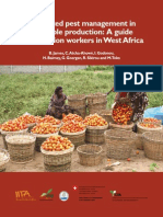 Intergrated Pest Management in Vegetable Production- A Guide for Extension Workers in West Africa