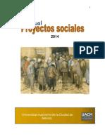 Manual Elaboración de Proyectos Sociales