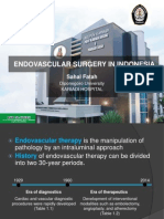 Endovascular Surgery Cp- Dr Sahal Fatah