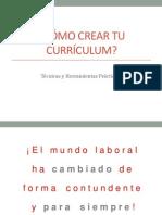 Cómo Crear Tu Currículum