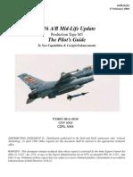 F16 MLU M3 Pilot's Manual
