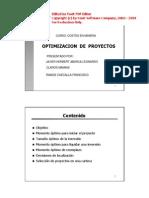 Optimizacion de Proyectos