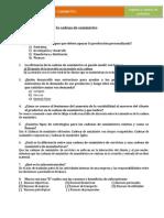 Cuestionario UII. Diseño de La Cadena de Suministro