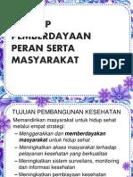 KONSEP PEMBERDAYAAN MASYARAKAT