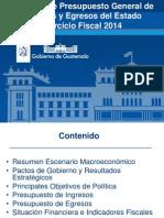 Proyecto Presupuesto 2014 II