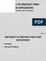 Designs to Prevent Fires and Explosions