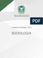 Sociologia curriculo minimo