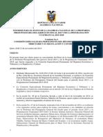 Informe Comision Proforma 2015
