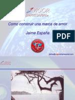 Marca de Amor Jaime España