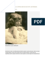 Schizofrenia Infantila Precoce-Articol
