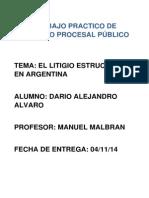 El litigio estructural en Argentina