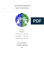 Laporan Praktikum Mikrobiologi Pewarnaan Gram Kel. 9