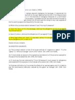 Bar Exam Quasi-Contracts