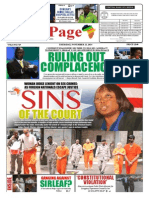 Thursday, November 13, 2014 Edition