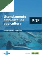 Cartilha Licenciamento Ambiental Da Aquicultura