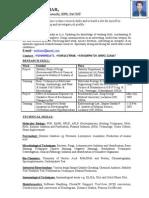 Resume Er. Ashok Kumar 9450501471