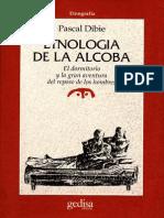 Dibie, Pascal. Etnología de La Alcoba.