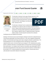 Meridian Contrarian Fund Second Quarter Commentary