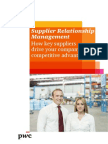 Pwc Supplier Relationship Management