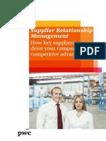 Pwc Supplier Relationship Management